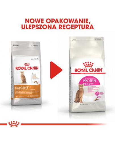 Exigent Protein Preference 42 karma sucha dla kotów dorosłych, wybrednych, kierujących się zawartością białka 4 kg