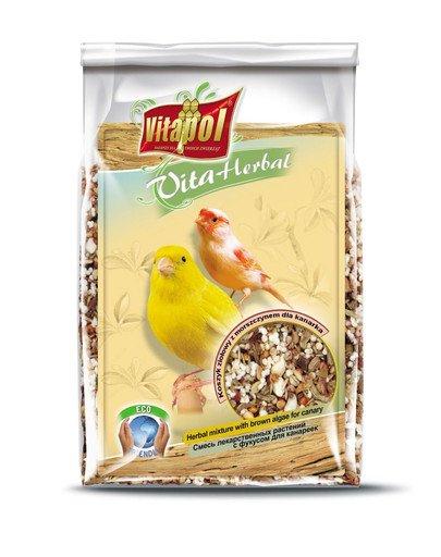 Koszyk ziołowy z morszczynem dla kanarka 200 g