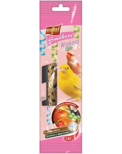 Smakers dla kanarka owocowy 45 g