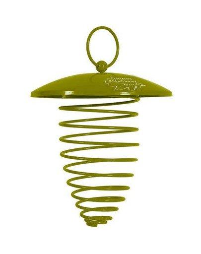 Spirala z daszkiem na kule tłuszczowe - zielona