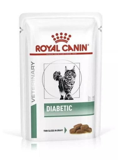 Cat diabetic 12 x 100 g dietetyczna mokra karma dla dorosłych kotów z cukrzycą