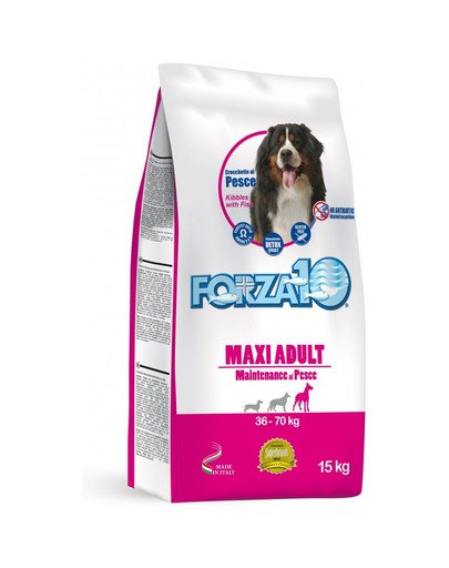 Maxi maintenance z rybą sucha karma dla dorosłych psów ras dużych 15 kg