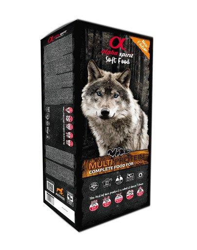 Pełnowartościowa karma sucha-miękka dla psów Multiproteina 9 kg