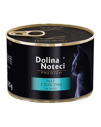 Premium filet z tuńczyka 185 g karma mokra dla kota