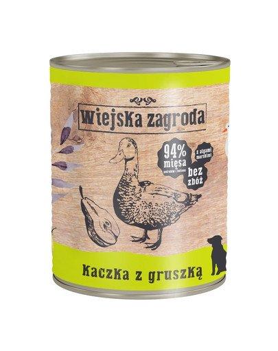 Kaczka z gruszką 800 g bezzbożowa karma dla psa