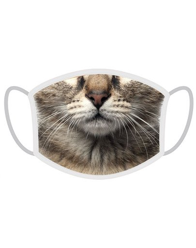 Maseczka ochronna sublimacyjna kot