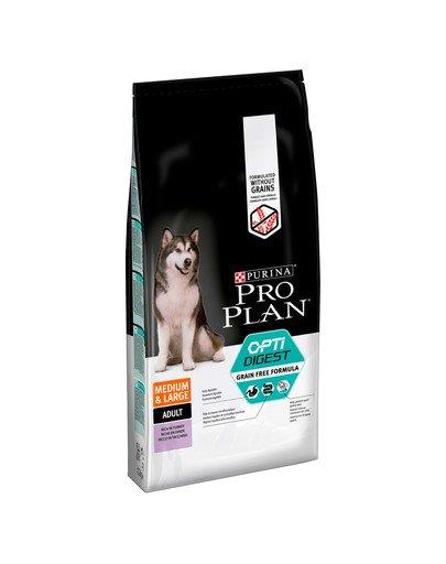 Pro Plan Grain Free Adult Medium Large Sensitive Digestion OPTIDigest 12kg