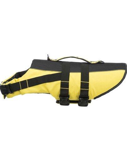 Kamizelka ratunkowa dla psów, XL: 65 cm: 60–96 cm, żółta/czarna