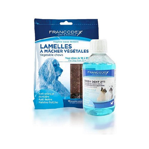 Produkty czyszczące zęby psa