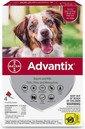 ADVANTIX Roztwór do nakrapiania dla psów od 10 do 25 kg (4 x 2,5 ml)